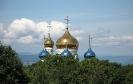 Купола Храма в Покровском парке